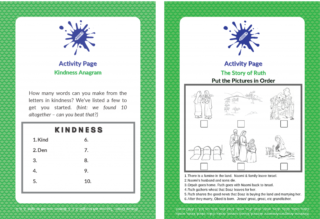 2 per page kindness Activity-01